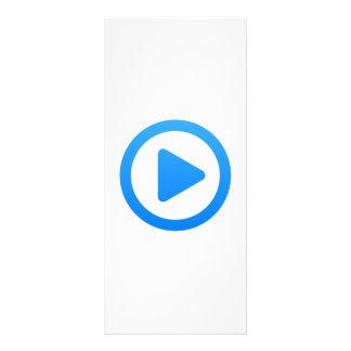 Media player Sign Full Color Rack Card