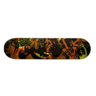 Media Retro Collage Custom Skateboard