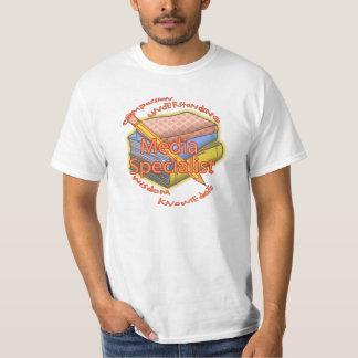 Media Specialist Motto T-Shirt