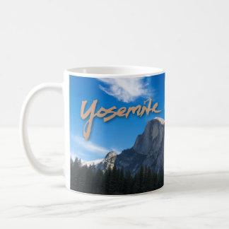 Media taza de Yosemite de la bóveda