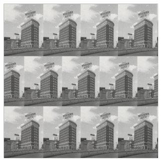 Media tela auto occidental del edificio del telas