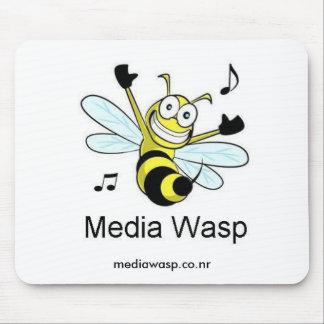 Media Wasp Mousepad #1