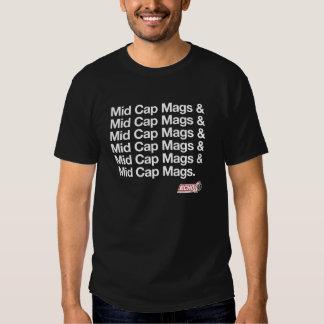 Mediados de camisa de Mags del casquillo de