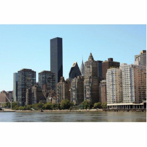 Mediados de ciudad Nueva York Escultura Fotográfica