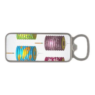 Mediados de festival del otoño - linterna de papel abrebotellas magnético