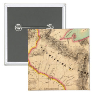 Mediados de oeste 41 de Estados Unidos Pin Cuadrada 5 Cm