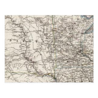 Mediados de oeste de los Estados Unidos de América Tarjetas Postales