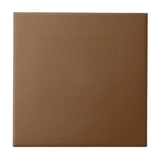 Mediados de teja simple adaptable de Brown