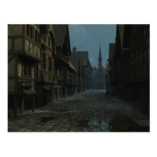 Mediaeval or Fantasy Town Postcard