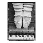 Mediano blanco y negro del dúo del ballet del fotografía