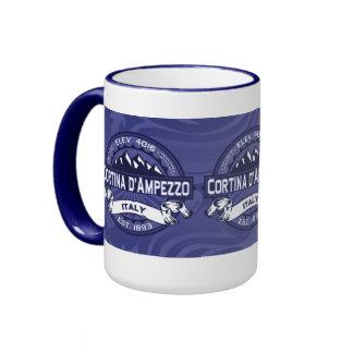 Medianoche de Cortina d'Ampezzo Taza De Café