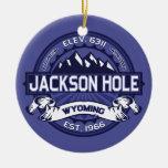 Medianoche de Jackson Hole Ornamentos De Reyes