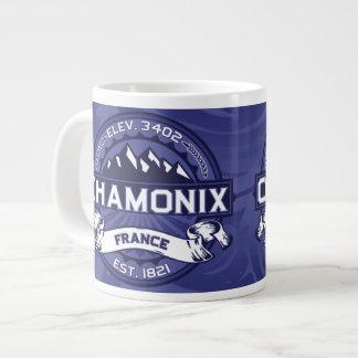 Medianoche del logotipo de Chamonix Taza Extra Grande