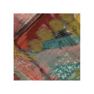 Medianoche en el ER #2 abstracto Impresión En Madera