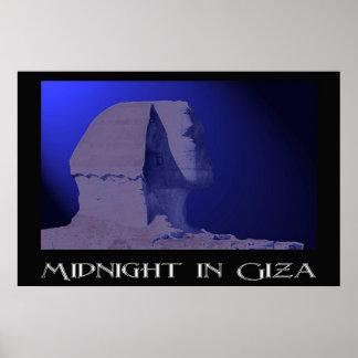 Medianoche en Giza Póster