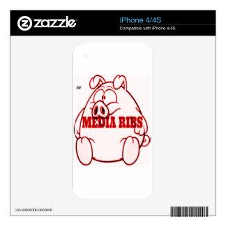 mediaribz skin for iPhone 4