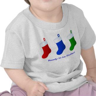 medias rellenas camisetas
