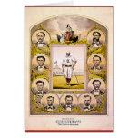 Medias rojas de Cincinnati de 1869 Tarjeta De Felicitación