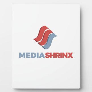 MediaShrinx Brand Plaque