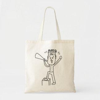 Mediating/helping irasutototobatsugu which you sup tote bag