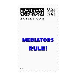 Mediators Rule! Postage Stamp
