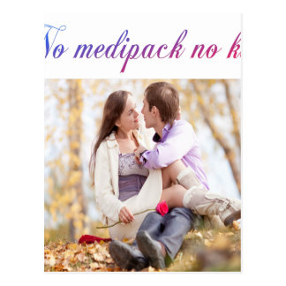 mediback humor postcard
