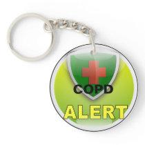 Medic Alert Emergency Keychain- COPD Keychain