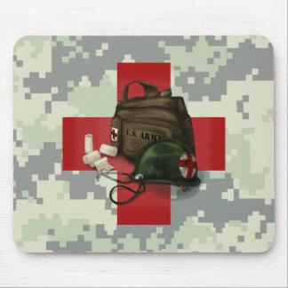 Medic Cross Camo Mousepad