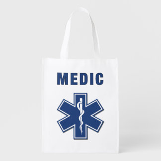 Medic EMS Reusable Grocery Bag