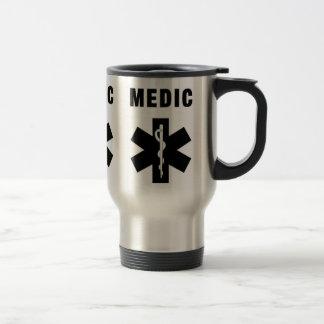 Medic Star of Life 15 Oz Stainless Steel Travel Mug