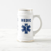 Medic Star of Life Beer Stein