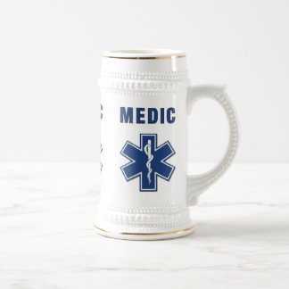 Medic Star of Life Beer Stein