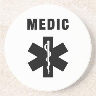 Medic Star of Life Beverage Coasters