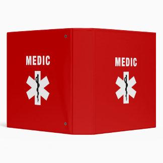 Medic Star of Life Binder