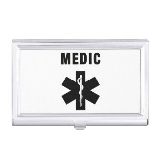 Medic Star of Life Business Card Case