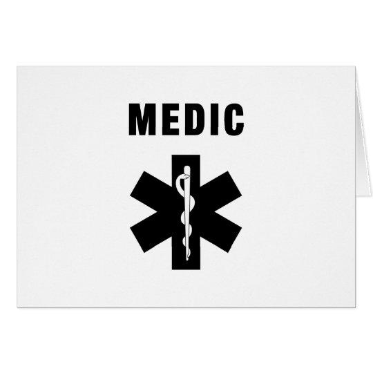 Medic Star of Life Card