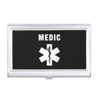Medic Star of Life Case For Business Cards