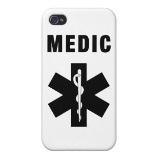 Medic Star of Life Case For iPhone 4