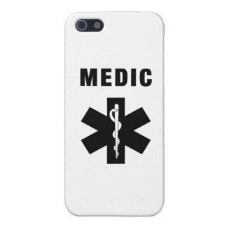 Medic Star of Life Cases For iPhone 5