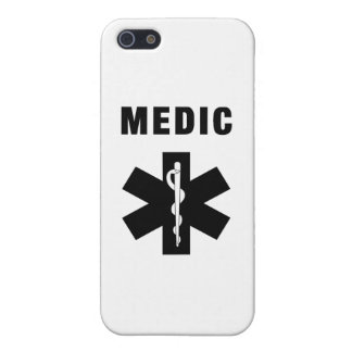 Medic Star of Life Covers For iPhone 5