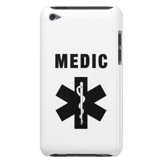 Medic Star of Life iPod Touch Case-Mate Case