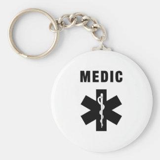 Medic Star of Life Keychain
