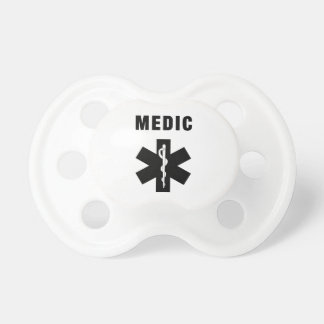 Medic Star of Life Pacifier