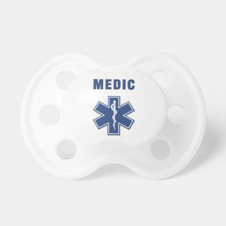 Medic Star Of Life Pacifiers