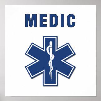 Medic Star of Life Poster