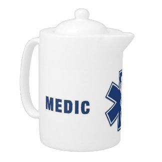 Medic Star Of Life Teapot