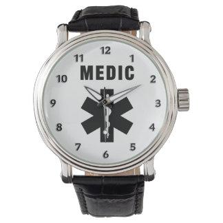 Medic Star of Life Wrist Watch