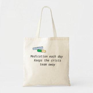Medicación cada bolso del día (equipo de la bolsa tela barata