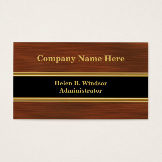 Medical Administrator Business Cards
