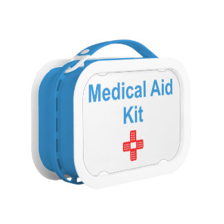 Medical Aid Kit Lunch Box
